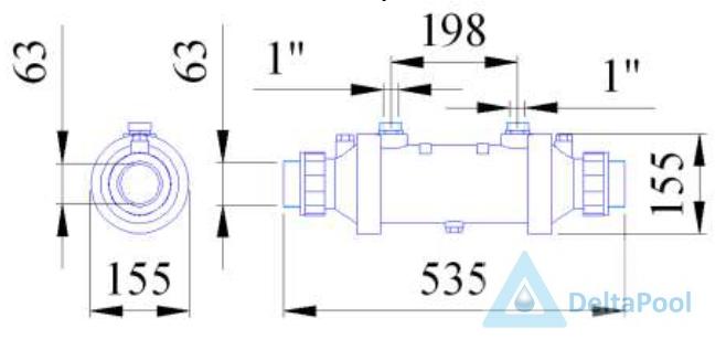 медный теплообменник покрытый особенным веществом защиты коррозии вторичный пластинчатый